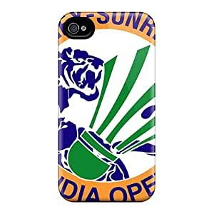 Scratch Resistant Hard Phone Cases For Iphone 4/4s With Allow Personal Design Trendy Green Day Image KerryParsons