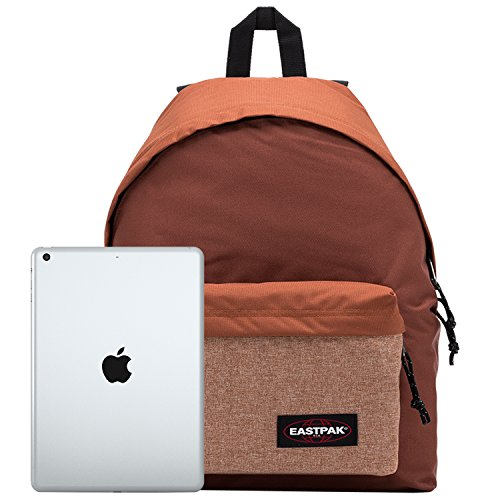 Eastpak Padded Pak 'R mochila, 40 cm, 24 L, Naranja (Fresh Juice) Marrón (Brown)