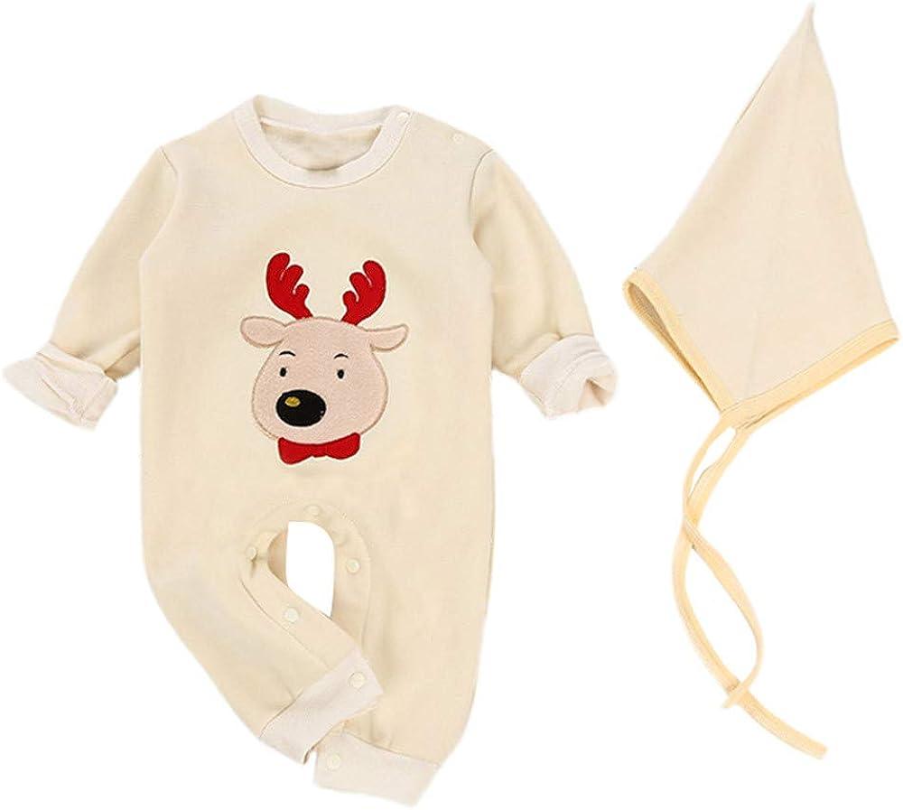 Ropa Bebe Navidad Disfraz Recién Nacido Niño Niña Monos de Reno + ...