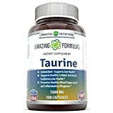 Cheap Amazing Nutrition Amazing Formulas Taurine * 1000 mg Pure L Taurine Amino Acid Supplement * 100 Capsules* Potent Antioxidant * Supports Eye Health, Healthy Cellular Activity & Cardiovascular Health