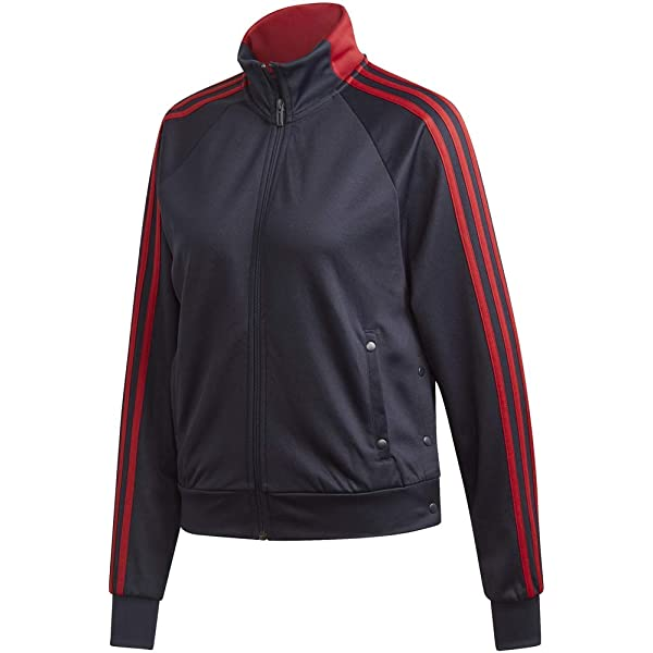 adidas Womens Adidas Women's Athletics Tricot snap Track top