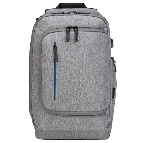 Targus CityLite Pro Premium Convertible Backpack for 15.6-Inch Laptop, Grey (TSB939GL) from Targus