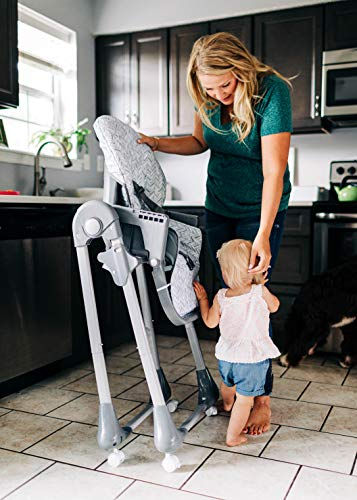 51uVK5CTu%2BL - Safety 1st 3-in-1 Grow & Go High Chair, Birchbark, One Size