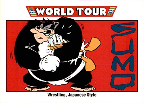 (1991 Disney Series One #174 Wrestling, Japanese Style Donald Duck Sumo Japan)