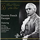 Great Voices of the Past: Favorite French Exc