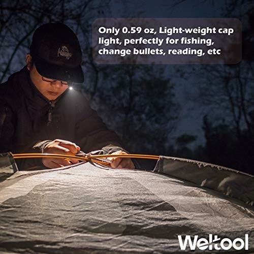 3000K Warm White EDC Pocket Li Weltool M6-Mini LED Cap Flashlight Ultra-Compact