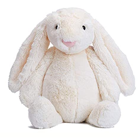 77a4556e399 Image Unavailable. Image not available for. Color  TelDen Animal Rabbit  Doll Plush Toy Baby Kids Sleeping Soft Comfort Stuffed ...