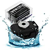 Monster Magnetics Waterproof Case for Under Vehicle GPS Tracking, Geocache Container, Smell Proof Stash Box - Powerful Neodymium Rare Earth Magnet Mount Best With Tracker, Hide Key, Money, or Jewelry