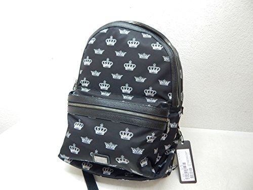 dolce-gabbana-vulcano-crown-print-backpack-black-white-backpack-bags