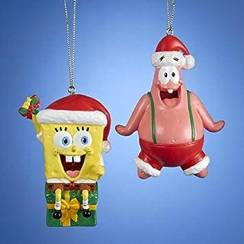 SpongeBob Squarepants and Patrick With Hats Ornaments, 2 Assorted - Amazon.com: SpongeBob Squarepants And Patrick With Hats Ornaments, 2