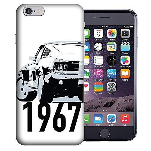 MUNDAZE for Apple iPhone 6s & iPhone 6 4.7 Inch UV Printed Design Case - 1967 Ford Mustang Design TPU Gel Case Cover