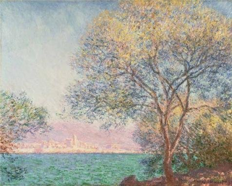 High Quality Polyster Canvas ,the Cheap But High Quality Art Decorative Art Decorative Canvas Prints Of Oil Painting 'Antibes Seen From The Salis Garden,1888 By Claude Monet', 8x10 Inch / (Sali Mali Costume)