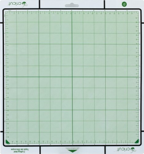 - Cricut 12-by-12-Inch Tacky Cutting Mats with Measurement Grids, Set of 2