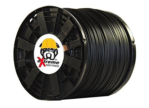 PetSafe Compatible Heavy Duty Electric Dog Fence Boundary Wire for All Models of Electric Fence for Dogs and Puppies or Cat Inground Pet Fence Systems - 1000' Heavy Duty (Wire For Dog Fence)