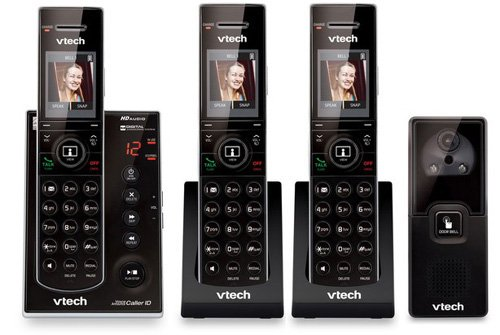 VTech 3 Handset Versatile Phone System with a Doorbell Digital Camera