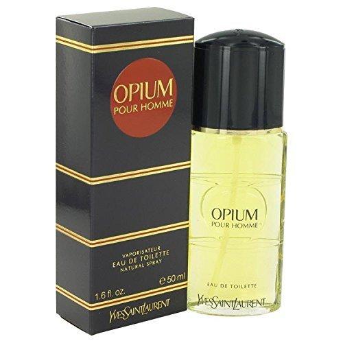 Opium Ginger Eau De Toilette - OPIUM by Yves Saint Laurent Eau De Toilette Spray 1.6 oz for Men - 100% Authentic