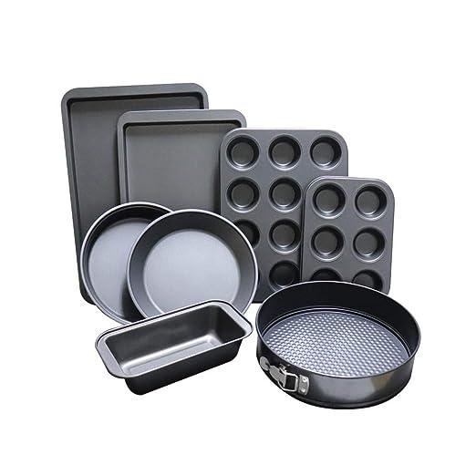 ShellStone - Juego de moldes para hornear (8 piezas, bandeja para ...