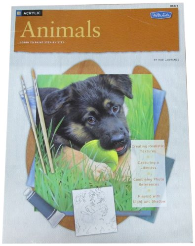 Download Animals / Acrylic: Learn to Paint Step by Step (How to Draw and Paint Series: Acrylic) pdf