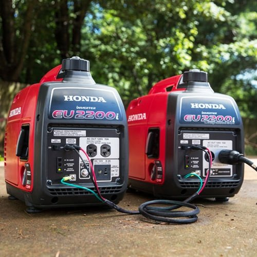 Honda EU2200i 2200W 120-Volt Portable Inverter Generator with Companion and Parallel Cables by Honda (Image #3)