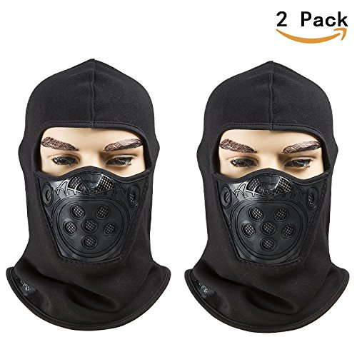 Fleece Lined Balaclava, Breathable Winter Windproof Ski Face Mask, Tactical Hat and Neckwarmer for Winter Sports by REDESS - Who Wears Sunglasses Inside