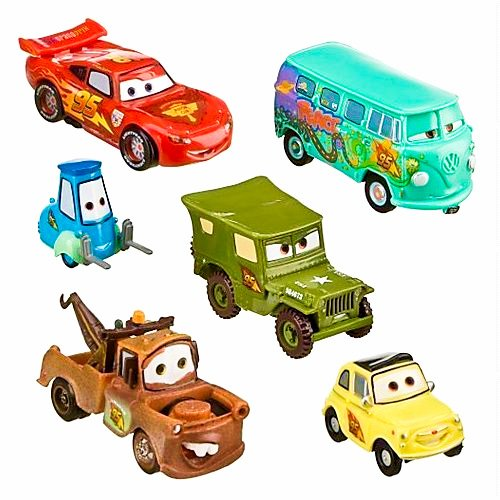 【新発売】 Disney Cars Crew 2 Pit Figure Crew 6 Figure Figurine Cars Set B005FCNVG8, AUSIRO BEAUTecH:2a99086f --- arianechie.dominiotemporario.com