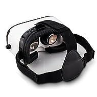 Indigi® VR Headset Lunettes 3d Viewer Boîte de réalité virtuelle Films Jeux casque iOS