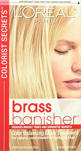 L'Oreal Paris Colorist Secrets Brass Banisher, Color Balancing Gloss Treatment - Gloss Remover