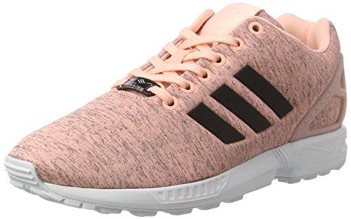 Adidas ZX Flux - Zapatillas de casa Mujer Rosa (Haze Coral/Core Black/Ftwr White)