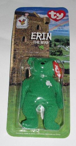 Charity Bear - Ty Tiny Beanie - Ronald McDonald House Charities - Erin The Bear