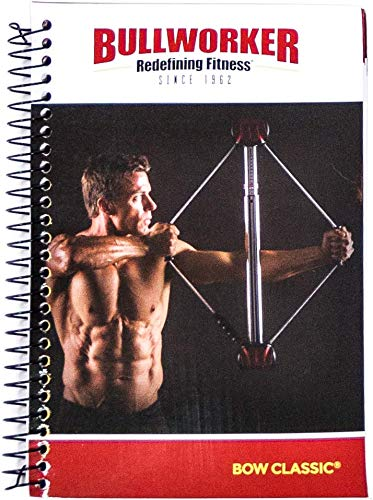 (Bullworker Bow Classic Spiral Bound Instructional Manual with 90 Day Fitness Routine and Planner)