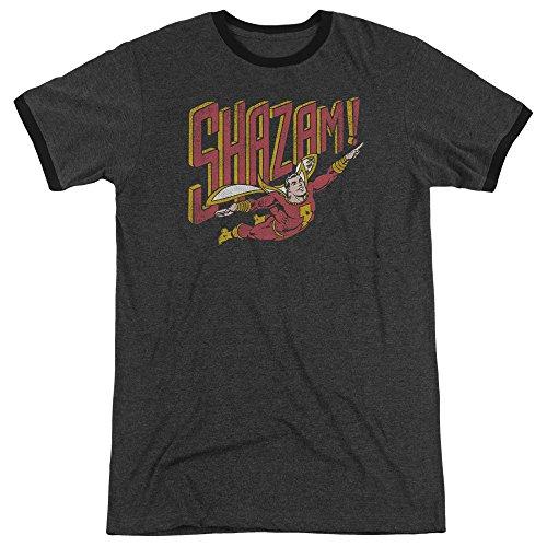 Marvel+Comics+Retro+Shirt Products : DC Comics Mens Retro Marvel Ringer T-Shirt