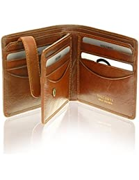 Tuscany 43 Secure RFID Blocking Genuine Leather Wallet