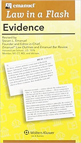 Book Law in A Flash: Evidence by Steven L. Emanuel (2014-04-07)