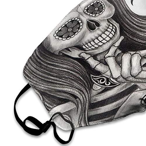 GLleaf Face Masks, Breathable Dust Filter Masks Medical Mask Mouth Cover Masks with Elastic Ear Loop White