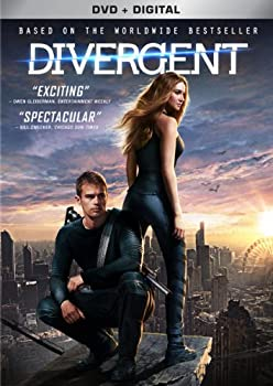 Divergent on DVD + Digital Copy