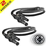2 Black Smoke Tonic Hookah Shisha Washable Hoses - Best Reviews Guide