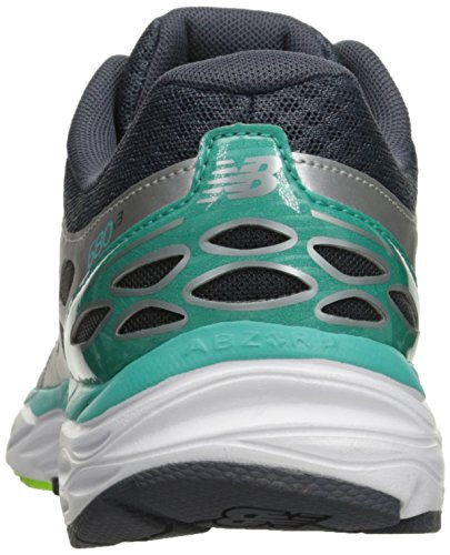 New Balance Women's W680V3 Running Shoe Silver/Reef