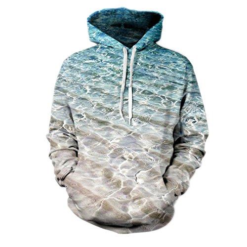 Sweatshirts Capuche À 3d Veste Avec Manches D'impression Acvip Longues homme Style Pochette 4 Pull Multicolore Unisexe Mode fPwvAqI