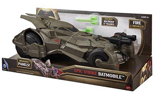 New Batman v Superman Batmobile Hero Vehicle Dawn Justice DC Comics Epic Strike ,#G14E6GE4R-GE 4-TEW6W286676