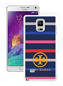 Hot Sell Tory Burch 02 (2) White Customized Samsung Galaxy Note 4 Phone Case
