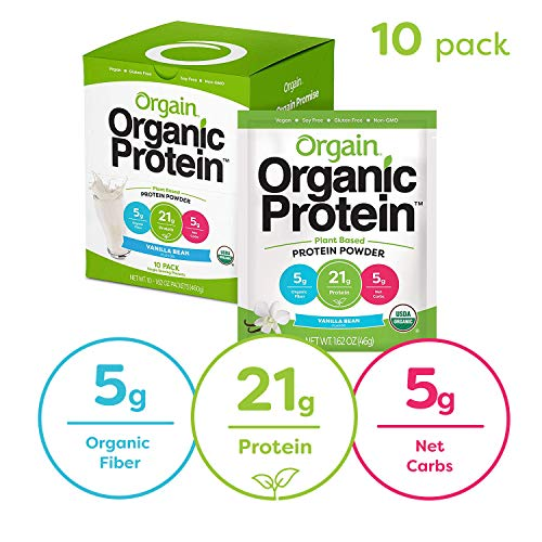 Orgain Organic Protein Powder Vanilla product image