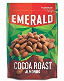 Emerald Cocoa Roast Almonds, Stand Up Resealable Bag, 5 Ounce (Pack of 18)