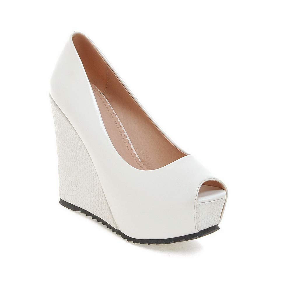 Inconnu Femme 1TO9 MJS03519, Bout Ouvert Blanc Femme Bout Blanc 697e8a2 - automatisms.space
