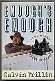 Enough's Enough, Calvin Trillin, 0899199585