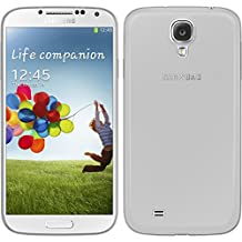 Silicone Case for Samsung Galaxy S4 - Slimcase transparent - Cover PhoneNatic + protective foils