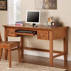 Amazon Com Steve Silver Company Oslo Writing Desk In Oak