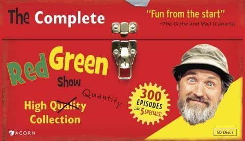 THE COMPLETE RED GREEN SHOW: HIGH (QUALITY) QUANTITY COLLECTION by Acorn Media by William G. Elliott, Larry Schnur Rick Green