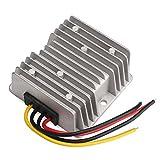 DROK® ; DC-DC Waterproof Boost Converter 3A Step Up Voltage Regulator Module 12V to 24V Car Power Supply Voltage Transformer Input 10V-20V with 4 Wires
