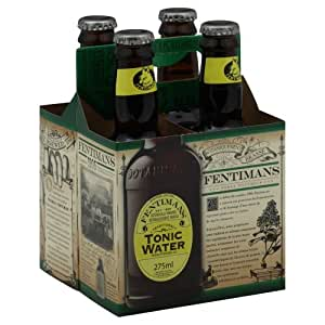 Fentimans Tonic Water, 9.3 Ounce - 4 per pack -- 6 packs per case.