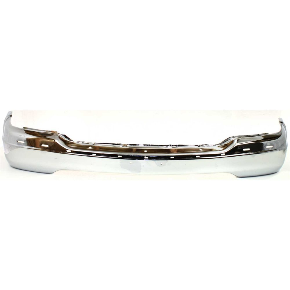 Bumper compatible with GMC Sierra 99-02//GMC Yukon 00-06 Front Bumper Chrome